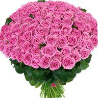 Розовые розы 151
