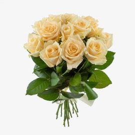 Кремовые розы 11