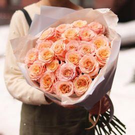 Букет из роз шиммер