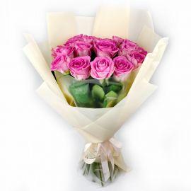 Розовые розы 15