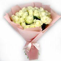 Белые розы 25