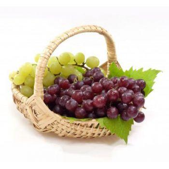 """Малая корзина с фруктами """"Виноградная"""""""