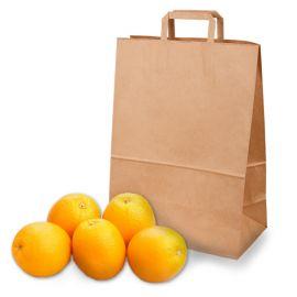 Апельсины в пакете