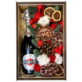 Коробка с шампанским