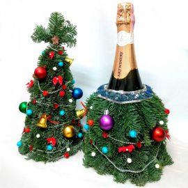 Елочка с шампанским