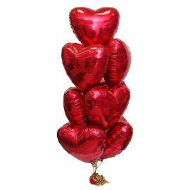Набор из 10 больших сердец